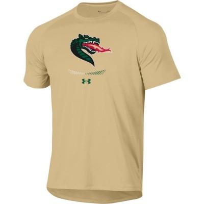 アンダーアーマー Under Armour メンズ Tシャツ トップス UAB Blazers Gold Tech Performance T-Shirt
