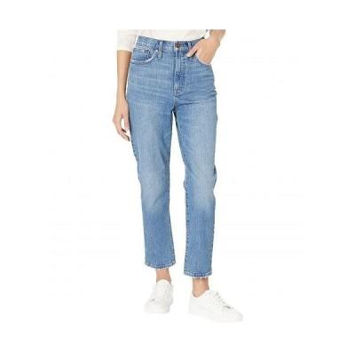 Madewell レディース 女性用 ファッション ジーンズ デニム Classic Straight Jeans in Nearwood Wash - Nearwood Wash