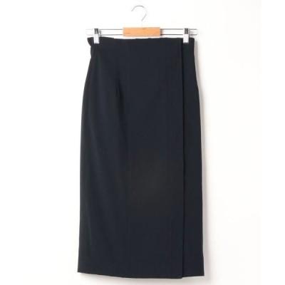 スカート リバーシブルIラインスカート