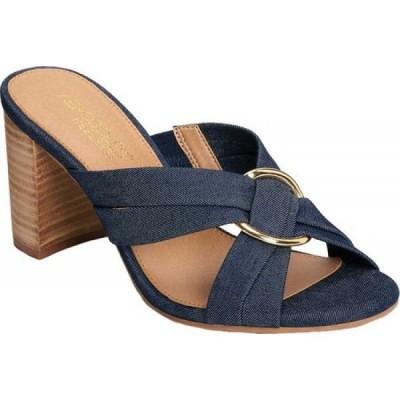 エアロソールズ Aerosoles レディース サンダル・ミュール シューズ・靴 Highwater Sandal Denim Fabric
