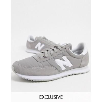 ニューバランス New Balance メンズ スニーカー シューズ・靴 720 trainers in grey グレー