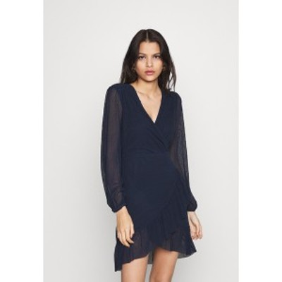 ヴィラ レディース ワンピース トップス VIANDREA DRESS - Shift dress - navy blazer navy blazer