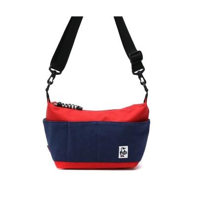 【ギャレリア】 チャムス ショルダーバッグ CHUMS Collect Shoulder Sweat Nylon CH60-2679 CH60-2075 ユニセックス ネイビー F GALLERIA