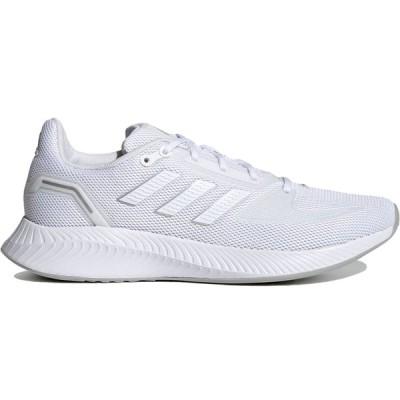 アディダス ランファルコン 2.0 adidas W RUNFALCON 2.0 フットウェアホワイト/フットウェアホワイト/シルバーメタリック FY9621 日本国内正規品