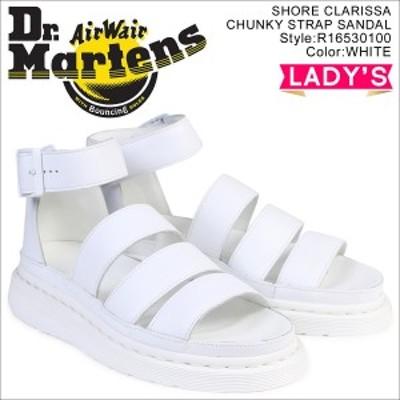 ドクターマーチン Dr.Martens サンダル クラリッサ チャンキー ストラップ レディース CLARISSA CHUNKY STRAP SANDAL ホワイト 白 R16530