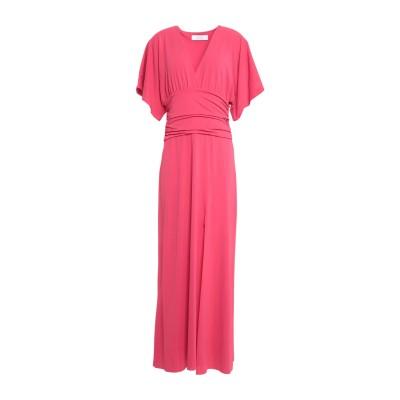 カオス KAOS ロングワンピース&ドレス コーラル S アセテート 75% / ナイロン 18% / ポリウレタン 7% ロングワンピース&ドレス