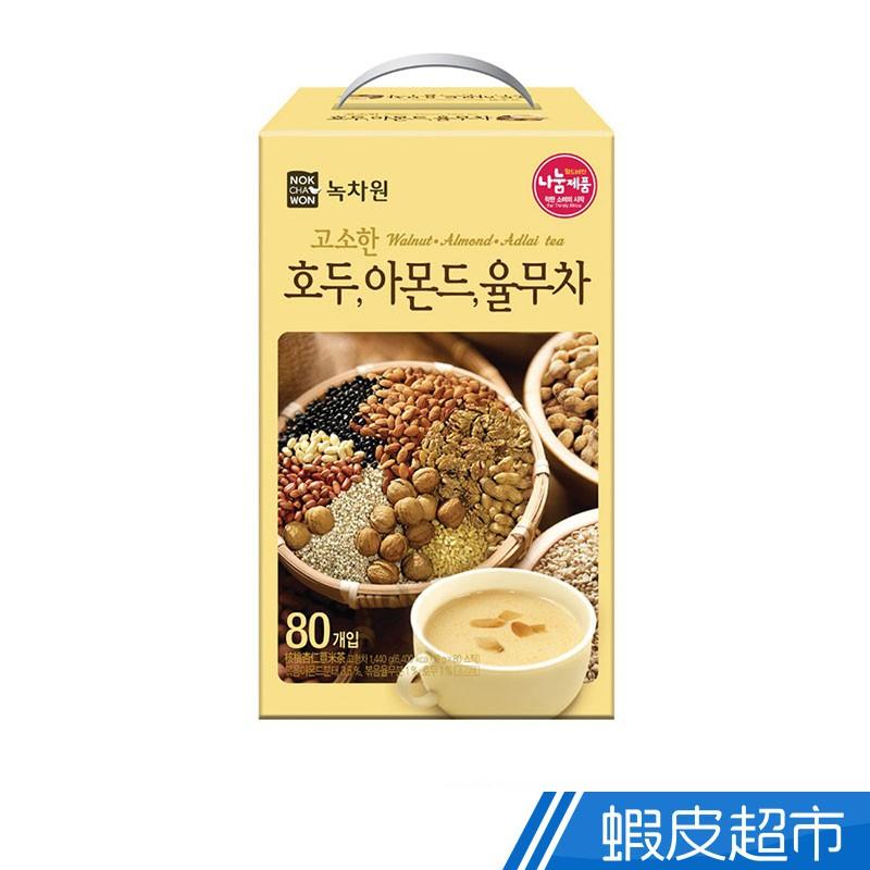 韓國 綠茶園 杏仁核桃薏仁茶 現貨 蝦皮直送 (部分即期)