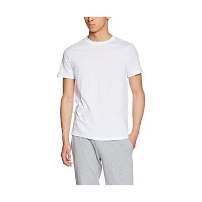 [ボディワイルド] Tシャツ プレミアム オーガニックコットン クルーネック BWN113P メンズ ホワイト 日本3L (日本サイズ3L相当)