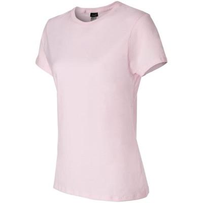 Hanes レディース 快適Tシャツ US サイズ: XX-Large カラー: ピンク