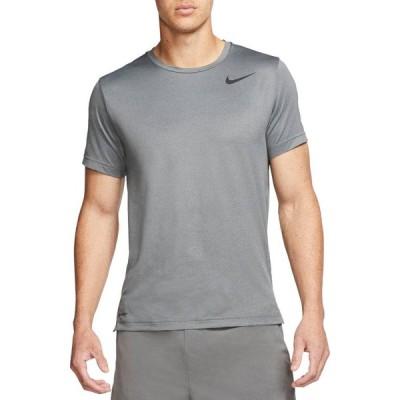 ナイキ メンズ Nike Men's Hyper Dry T-Shirt Tシャツ 半袖 BLACK/SMOKE GREY/HTR