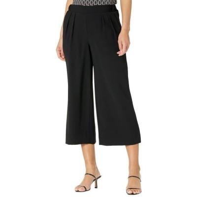 アンクライン レディース 服 パンツ Wide Leg Pleat Front Pullon Pants