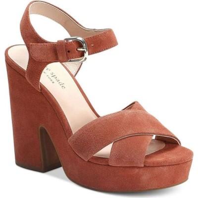 ケイト スペード kate spade new york レディース サンダル・ミュール シューズ・靴 Grace Platform Sandals Dark Tawny