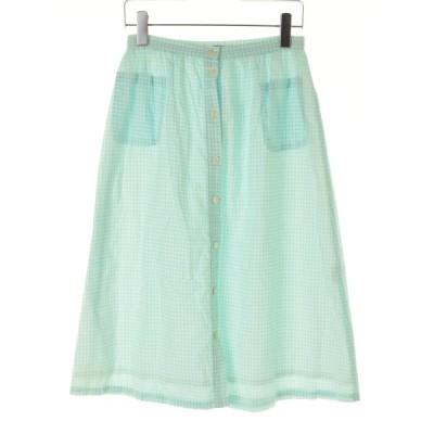 PARICI / パーリッシィ ギンガムチェック柄ロング スカート