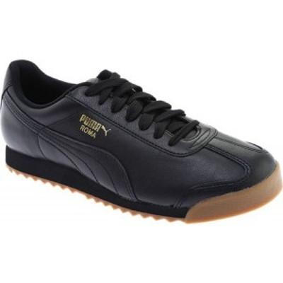 プーマ PUMA メンズ シューズ・靴 Roma Basic Puma Black/Puma Team Gold