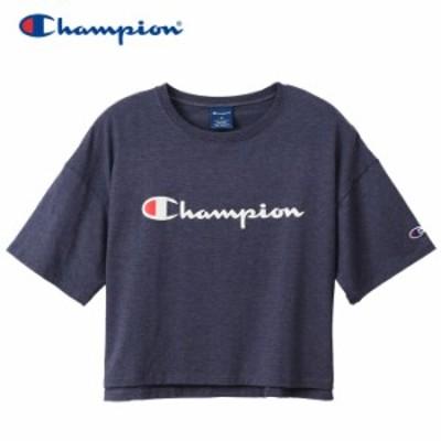 【メール便対応】チャンピオン クロップドTシャツ CW-RS304-370 レディース 2020 春夏