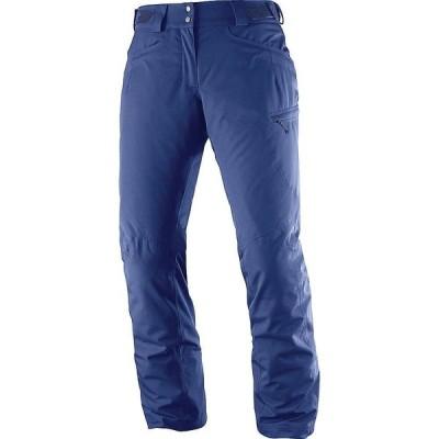 サロモン Salomon レディース スキー・スノーボード ボトムス・パンツ Fantasy Pant Medieval Blue Heather