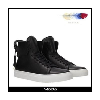 ブシェミ スニーカー メンズ 黒 ブラック BUSCEMI 靴 ハイカット