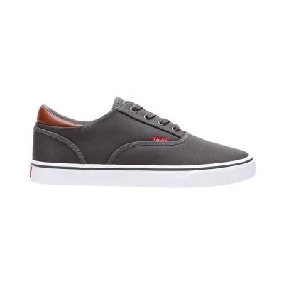 リーバイス スニーカー シューズ メンズ Men's Ethan Canvas Sneakers Charcoal