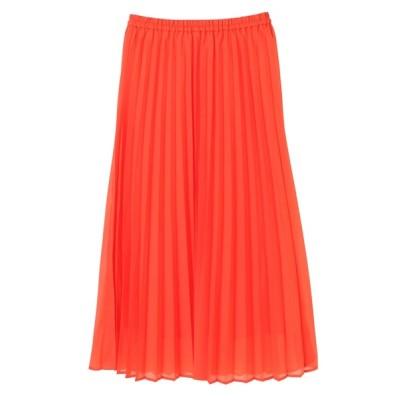Green Parks / オーガンジーカラープリーツスカート* WOMEN スカート > スカート
