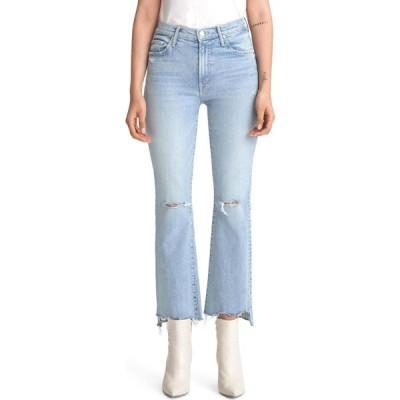 マザー MOTHER レディース ジーンズ・デニム ブーツカット リップドジーンズ The Insider Ripped Chew Hem Crop Bootcut Jeans Drinking By The Pool