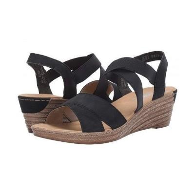 Rieker リーカー レディース 女性用 シューズ 靴 ヒール 62412-15 - Pazifik