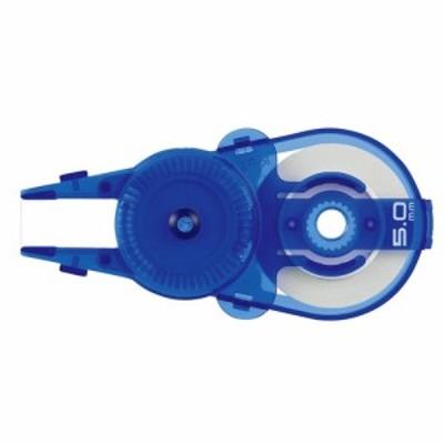 プラス(PLUS) ホワイパースライド ポップカラー 交換テープ 5mm WH-115R ブルー│消しゴム・修正液 修正テープ