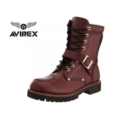 AVIREX アヴィレックス YAMATO (ヤマト) AV2100 (CHE)バイカー ブーツ メンズ レディース アビレックス 3E