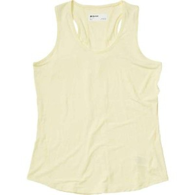 マーモット レディース Tシャツ トップス Marmot Women's Aura Tank Yellow Mist