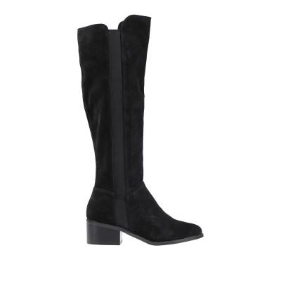 スティーブ マデン STEVE MADDEN ブーツ ブラック 6 革 / 指定外繊維(その他伸縮性繊維) ブーツ