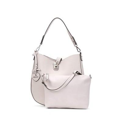 Emily & Noah Messenger Bag, Cement 320 (Grey) - 61672320 並行輸入品
