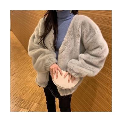 FREEPANY レディース コート Mink fur coat