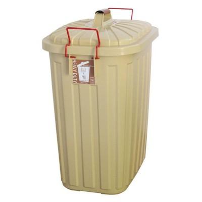 (A4) PALE×PAIL ふた付きゴミ箱 エクリュベージュ 60L