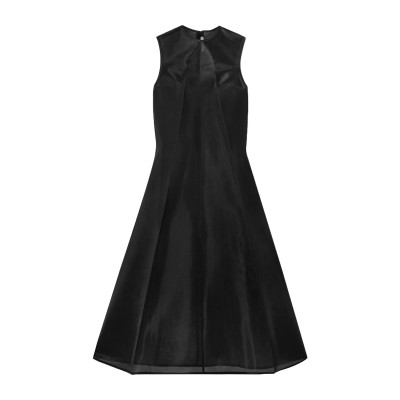 PETER DO 7分丈ワンピース・ドレス ブラック 36 ポリエステル 100% 7分丈ワンピース・ドレス