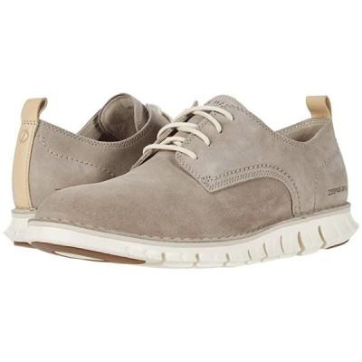 コールハーン Zerogrand Stitchout Oxford メンズ スニーカー 靴 シューズ Gray Suede/Ivory