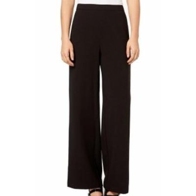 kensie ケンジー ファッション パンツ Kensie NEW Black White Womens Size Small S Wide Leg Side Stripe Pants