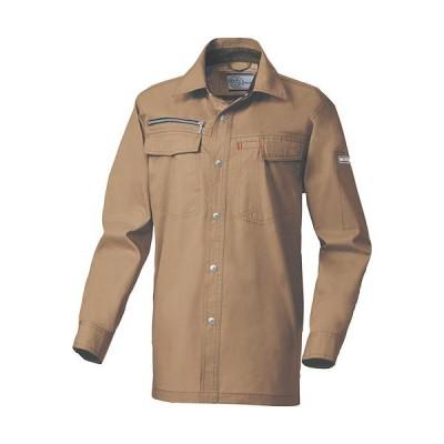 桑和(SOWA) 長袖シャツ 94/キャメル SS〜LLサイズ 135 作業着 作業服 ワークウェア ウエア トップス メンズ