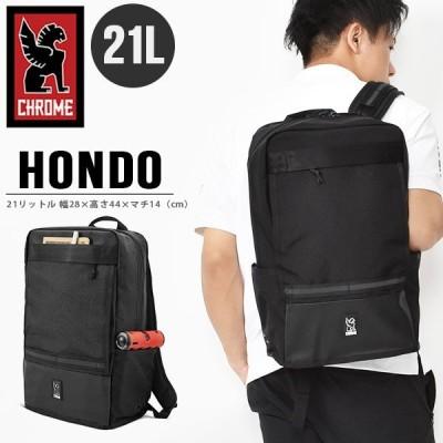 バックパック クローム CHROME メンズ HONDO ホンドー ブラック 黒 21L ピスト バイク リュック ザック バッグ BG219ALLB