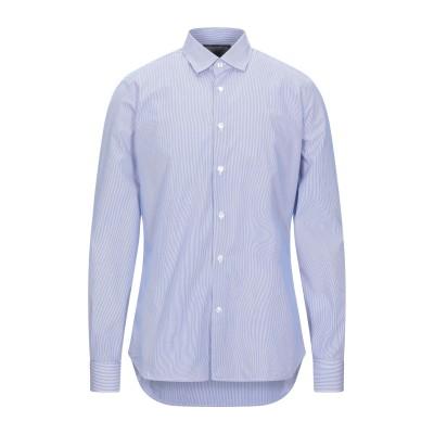 DOMENICO TAGLIENTE シャツ ブルー 40 コットン 100% シャツ