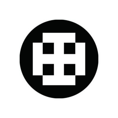 家紋シール 白紋黒地 裃木 布タイプ 直径23mm 6枚セット NS23-3145W