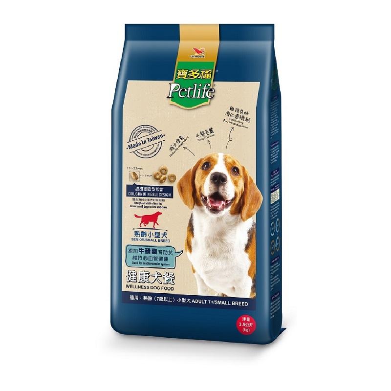 寶多福健康犬餐熟齡小型犬3.5kg