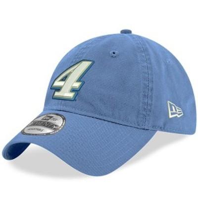 ニューエラ メンズ 帽子 アクセサリー Kevin Harvick New Era Enzyme Washed 9TWENTY Adjustable Hat Powder Blue