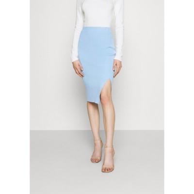 フォース アンド レックス スカート レディース ボトムス REBEKAH SKIRT - Pencil skirt - blue