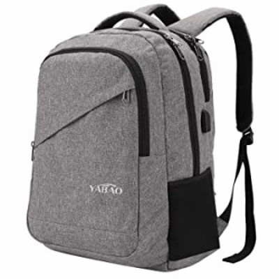 Travel Laptop Backpack, Business Anti Theft Slim Durable Laptops Backpack with USB Charging Port