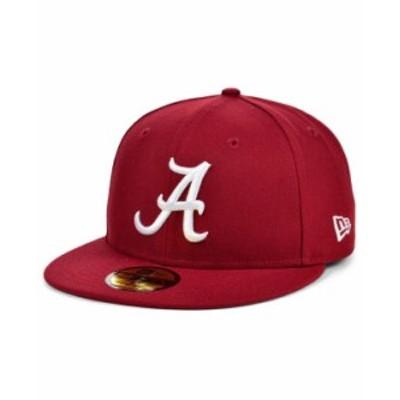 ニューエラ レディース 帽子 アクセサリー Alabama Crimson Tide AC 59FIFTY Cap Crimson