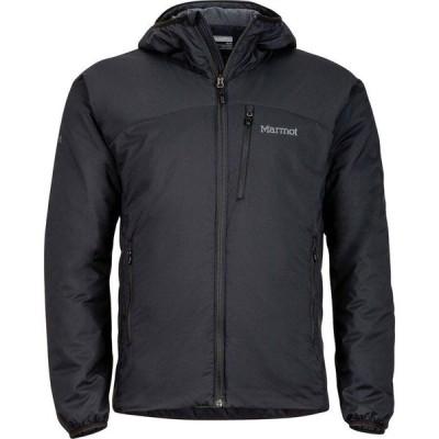 (取寄)マーモット フーデット ジャケット - メンズ Marmot WarmCube Novus Hooded Jacket - Men's Black