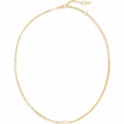 ゴリアナ GORJANA レディース ネックレス ジュエリー・アクセサリー Nico Delicate Rectangle Chain Necklace Gold