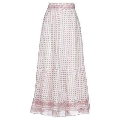 VANESSA BRUNO ロングスカート ホワイト 42 コットン 100% ロングスカート