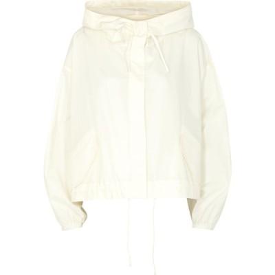 ジル サンダー Jil Sander レディース ジャケット アウター Off-White Logo-Print Cotton Poplin Jacket Natural