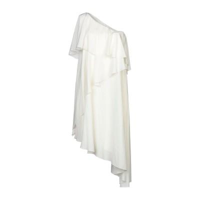 ランバン LANVIN ミニワンピース&ドレス アイボリー 36 ポリエステル 100% ミニワンピース&ドレス
