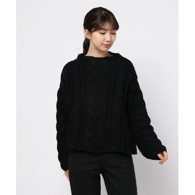 Re.Verofonna / ボリューム柄編ニット WOMEN トップス > ニット/セーター